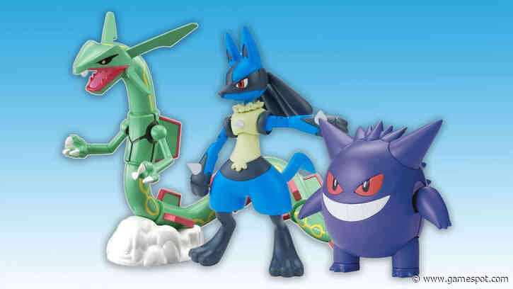 Pokemon Model Kits Available For Pre-Order At Amazon