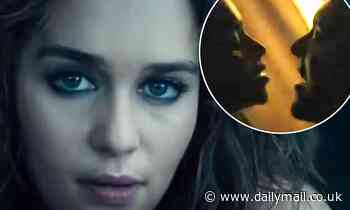 Emilia Clarke gets steamy before being kicked to the curb in trailer for new movie Above Suspicion