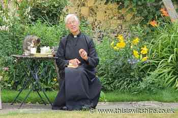 Cat broadcast during online prayer service stealing vicar's milk - This Is Wiltshire