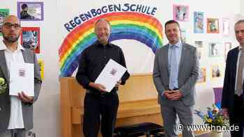 Regenbogenschule Frankenberg: Leiter Dr. Martin Mengel verabschiedet - HNA.de