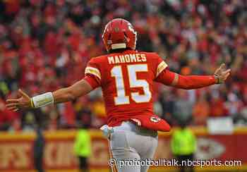 """Patrick Mahomes tweets """"here to stay"""" to chase """"a dynasty"""""""