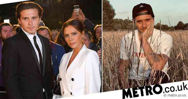Victoria Beckham thrilled to have son Brooklyn back home in the UK after he spent lockdown in New York