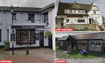 Three pubs are forced to close because customers test positive for coronavirus