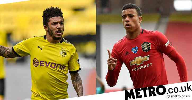 Manchester United remain keen on Jadon Sancho despite Mason Greenwood's stunning form on the right wing