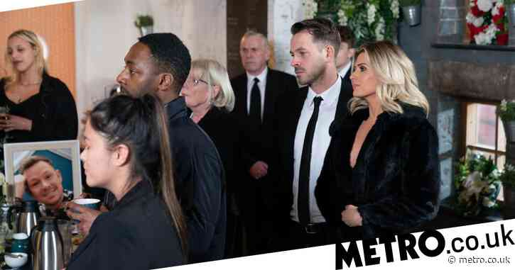 Hollyoaks spoilers: Darren Osborne reveals suicide trauma to Mandy Richardson after Kyle Kelly's funeral?