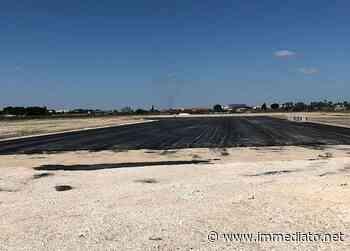"""Aeroporto """"Gino Lisa"""" di Foggia: riprendono i lavori per il prolungamento della pista di volo. """"Estendere la Bonifica da Ordigni Bellici"""" - l'Immediato"""