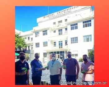 Ifes Colatina entrega videolaringoscópios 3D para hospital da Hucam - Colatina em Ação