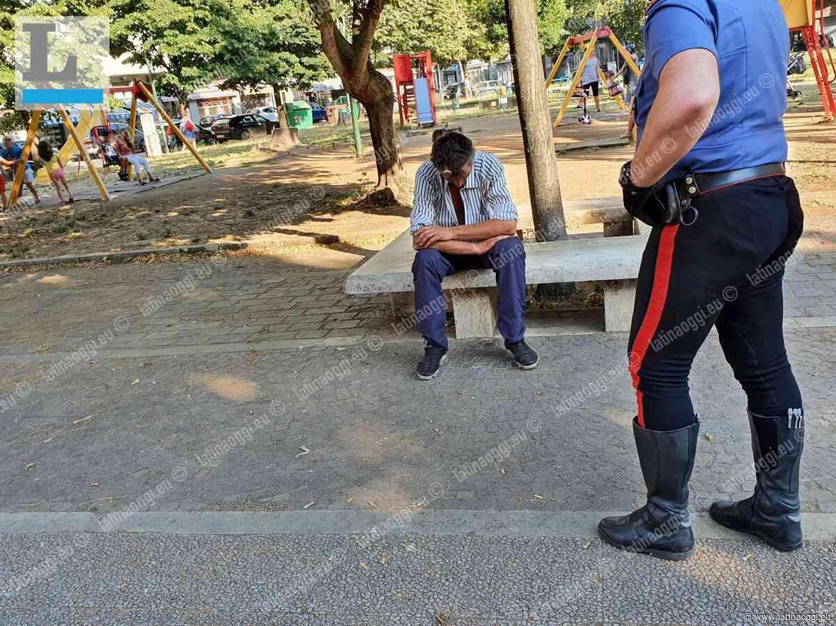 Straniero ubriaco si spoglia davanti ai bambini, intervengono i carabinieri - latinaoggi.eu