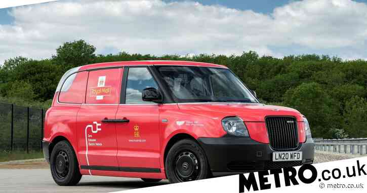 Royal Mail trials electric vans for delivering the post