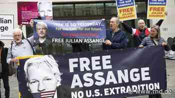 Julian Assange: Dutzende Organisationen fordern Freilassung - RND
