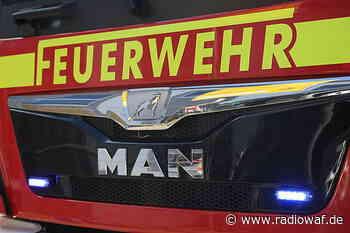 Maschinenhalle in Sassenberg brennt nieder - Radio WAF