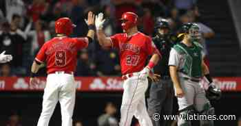 Angels open regular season on road against Athletics, play the Dodgers six times