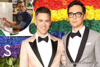 The Big Bang Theory's Jim Parsons 'was scared coming out as gay would cause trouble for sitcom' - The Irish Sun