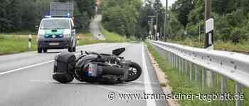 Motorradfahrer verstirbt nach schwerem Unfall bei Traunreut – Polizei fahndet nach Verursacher - Traunsteiner Tagblatt