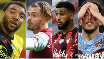 Premier League relegation battle: Six teams fighting to stay up with five games left