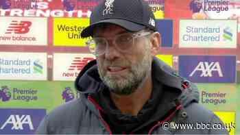 Liverpool 2-0 Aston Villa: Jurgen Klopp praises Curtis Jones