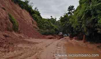 Restablecen paso entre Yalí y Vegachí, que estaba bloqueado por 60 derrumbes a causa de las lluvias - El Colombiano
