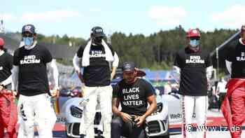 Lewis Hamilton: Niemanden zum Kniefall zwingen - tz.de