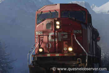 Collision results in train derailment just east of Golden – Quesnel Cariboo Observer - Quesnel Cariboo Observer