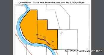 Three properties near Quesnel under an evacuation alert - BC News - Castanet.net