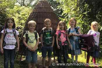 Neues Weidenhäuschen für die Kinder im Walkindergarten Schwerte - Ruhr Nachrichten