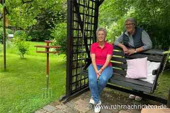 Vier Generationen fühlen sich unter dem alten Süßkirschbaum wohl - Ruhr Nachrichten