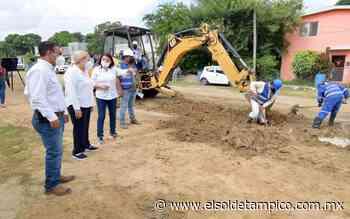 Supervisan trabajos hidrosanitarios en zona de Miramar - El Sol de Tampico