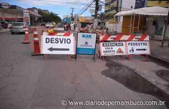 Obras em Rio Doce alteram trânsito de Olinda; confira - Diário de Pernambuco