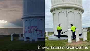 Wollongong lighthouse target of second graffiti attack in six months - Illawarra Mercury