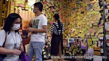 HK's new law hits pro-democracy economy - Illawarra Mercury
