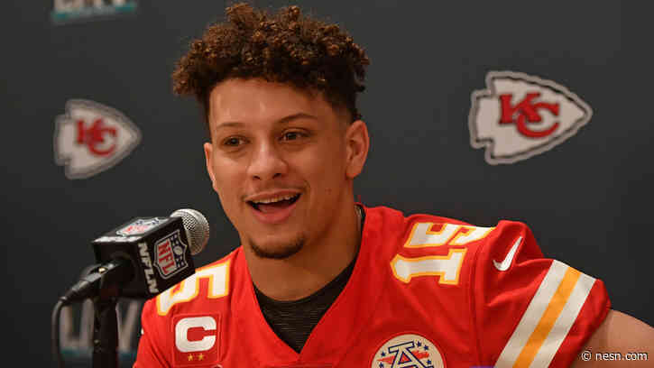 NESN Diary: Patrick Mahomes' Deal Is Worth More Than Elton John (And Other Random Thoughts)