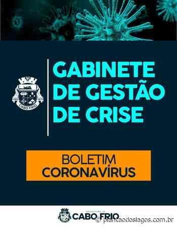 Cabo Frio vai alcançar a marca de mil pessoas infectadas pela Covid-19 nessa semana - Plantão dos Lagos