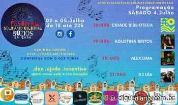 Pelas redes sociais, artistas de Búzios e Cabo Frio realizam, neste final de semana, lives musicais e culturais para todos os públicos - Clique Diário