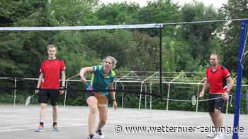 TG Friedberg eröffnet Außenanlage mit neuer Badminton-Variante - Wetterauer Zeitung