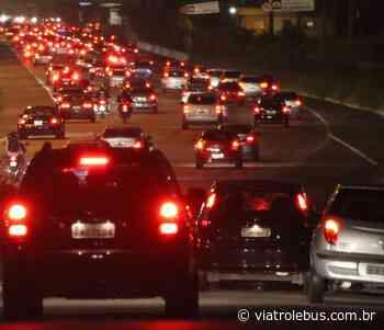 Rodovia Castello Branco tem lentidão em Barueri após acidente na noite desta sexta (03) - Via Trolebus
