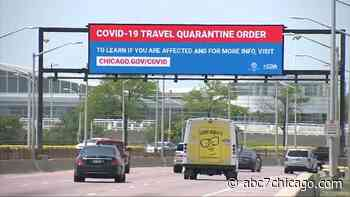 Chicago quarantine: Emergency travel order takes effect for travelers from states with high COVID-19 infections - WLS-TV