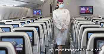 Qatar Airways Now Requires Passengers Wear a Face Shield and Mask - Travel + Leisure