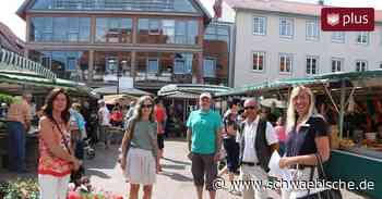 Erste Stadtführung in Bad Saulgau nach der Corona-Pause - Schwäbische