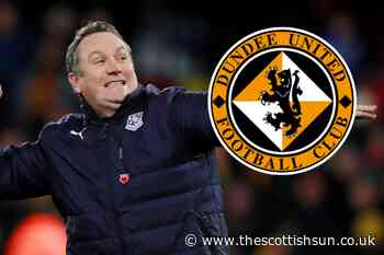 Dundee United announce Micky Mellon as club's new manager after two-week hunt - The Scottish Sun