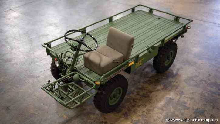 The Willys M274 Mechanical Mule Looks Like a Pallet, Hauls Better Than a Jeep