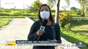 Porto Seguro e Santa Cruz Cabrália vão retomar atividades de turismo ainda em julho; veja como vai ser protocolo de reabertura - G1