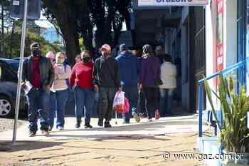 Risco de cair na bandeira vermelha preocupa em Santa Cruz e região - GAZ