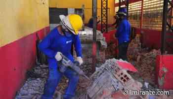 Prefeitura inicia reforma do Mercado do Santa Cruz - Imirante.com