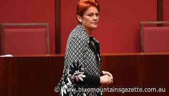Pauline Hanson banned from The Today Show - Blue Mountains Gazette