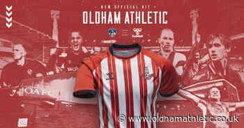 2020/21 Away Anniversary Shirt Revealed - News - oldhamathletic.co.uk