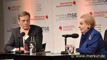 Ehemalige US-Außenministerin Madeleine Albright in München Gast von Claus Kleber - Merkur.de
