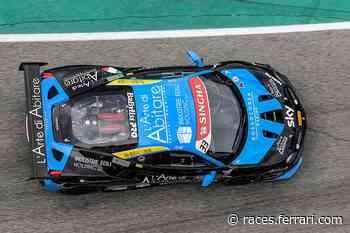 In gara 1 a Imola vittorie per Tabacchi e Vyboh - Ferrari Corse Clienti