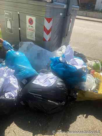 Da Imola a Massa Lombarda per abbandonare rifiuti in strada: 270 euro di sanzione - Ravenna e Dintorni