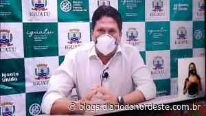 Prefeito de Iguatu e secretários testam positivo para Covid-19 - Blogs Diário do Nordeste