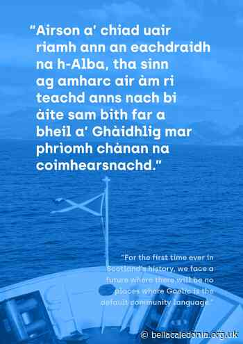Responding Creatively to The Gaelic Crisis – Bella Caledonia - bellacaledonia.org.uk
